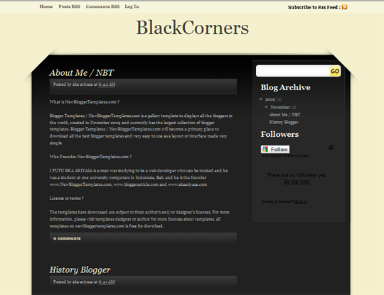 BlackCorners
