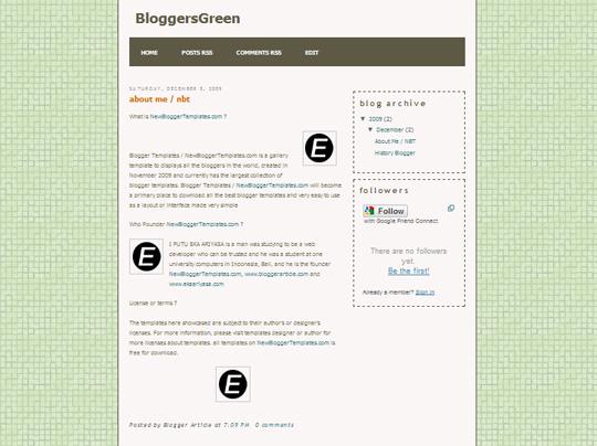 BloggersGreen