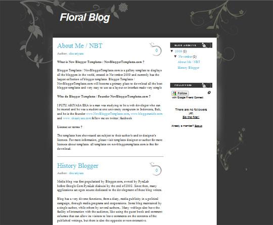 Floral Blog