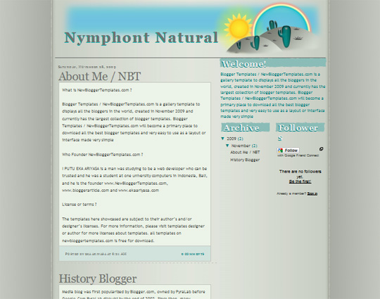 Nymphont Natural