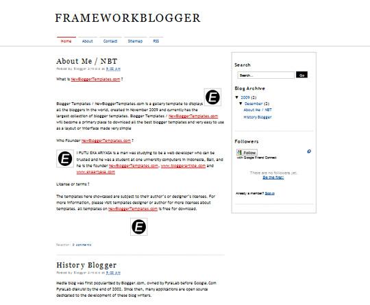 FrameWorkBlogger